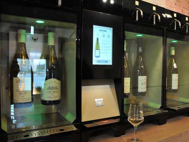Entdecken Sie die kontrollierten Herkunftsbezeichnungen im Haus der Weine © OTBC