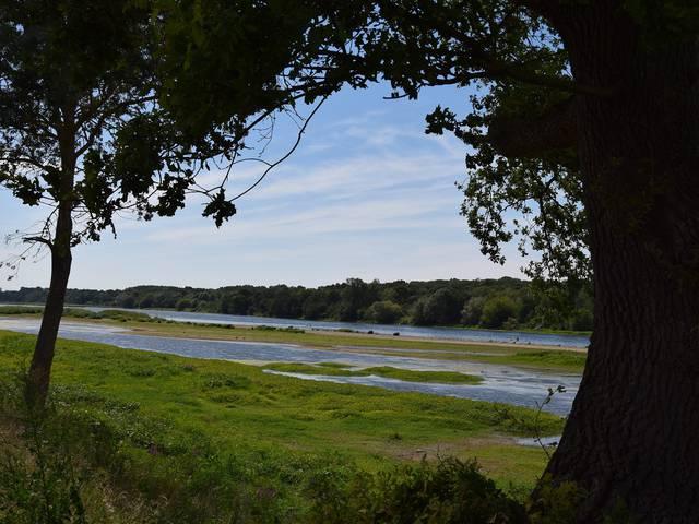 Die Loire in Saint Dyé, ideal für alle Arten von Geschichten... © OTBC