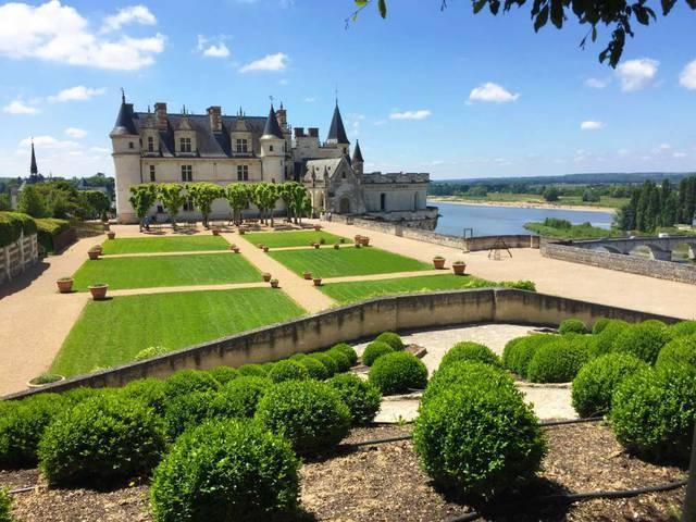 Schloss Amboise und sein Garten © OTBC