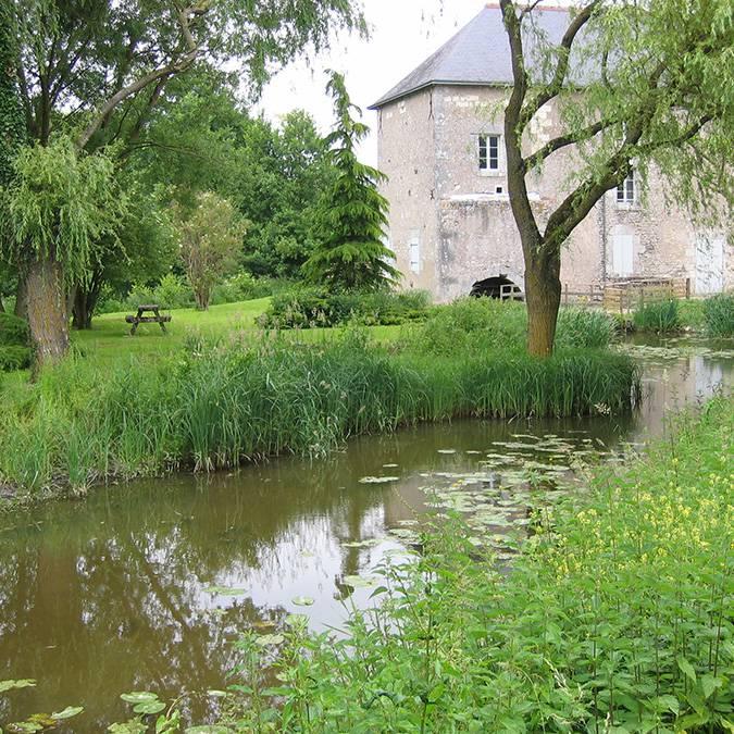 Moulin de Fossé im Tal der Cisse