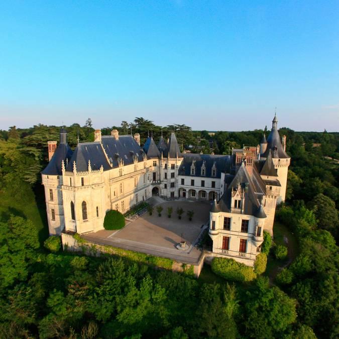Die Nordfassade des Schlosses von Chaumont-sur-Loire  © OTBC