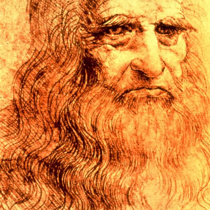 Selbstbildnis von Leonardo da Vinci
