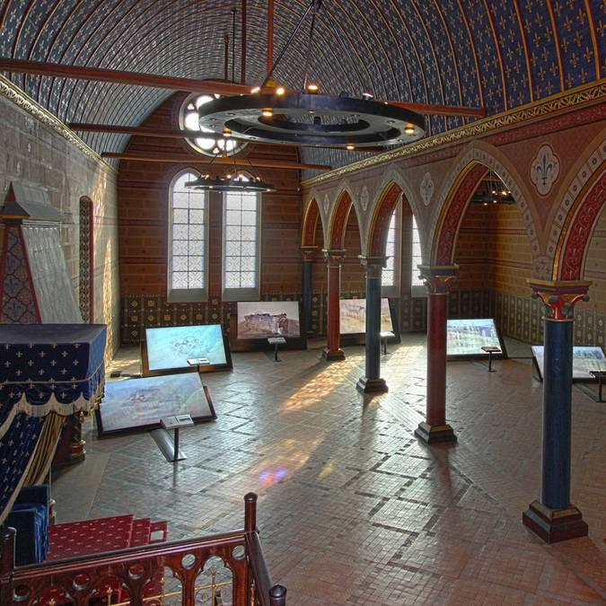 Der Saal der Generalstände im Schloss von Blois