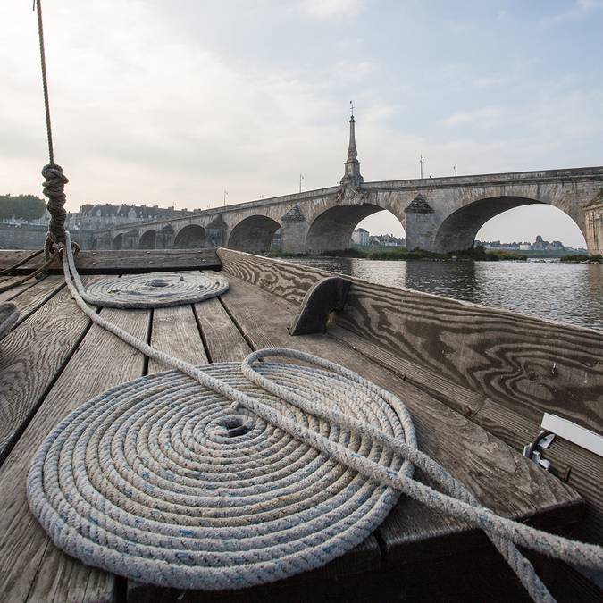 An der Brücke  Jacques Gabriel in Blois