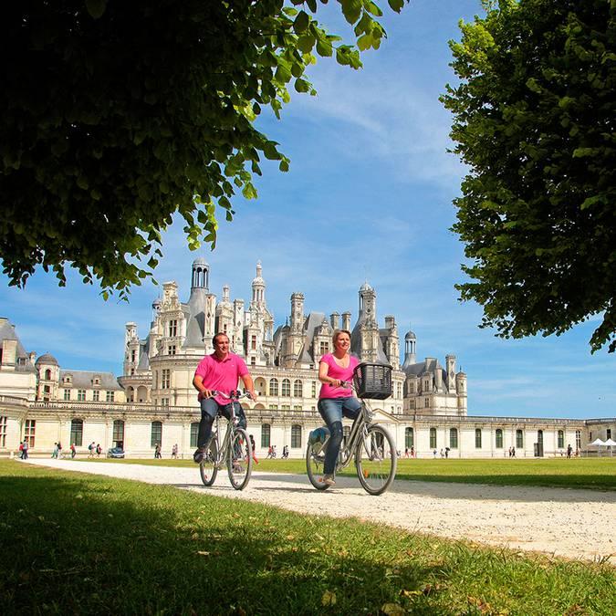 Chambord mit dem Fahrrad © Ludovic Letot