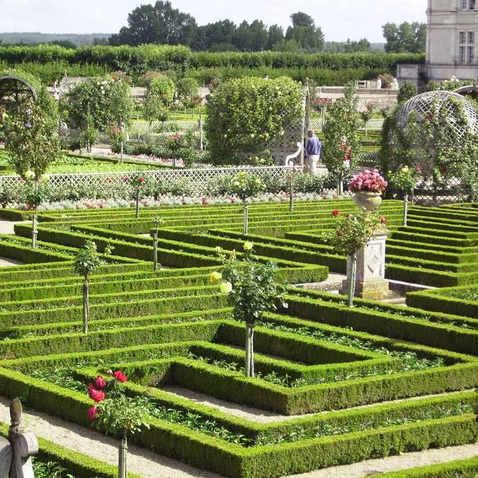 Der Schlossgarten von Villandry  © OTBC