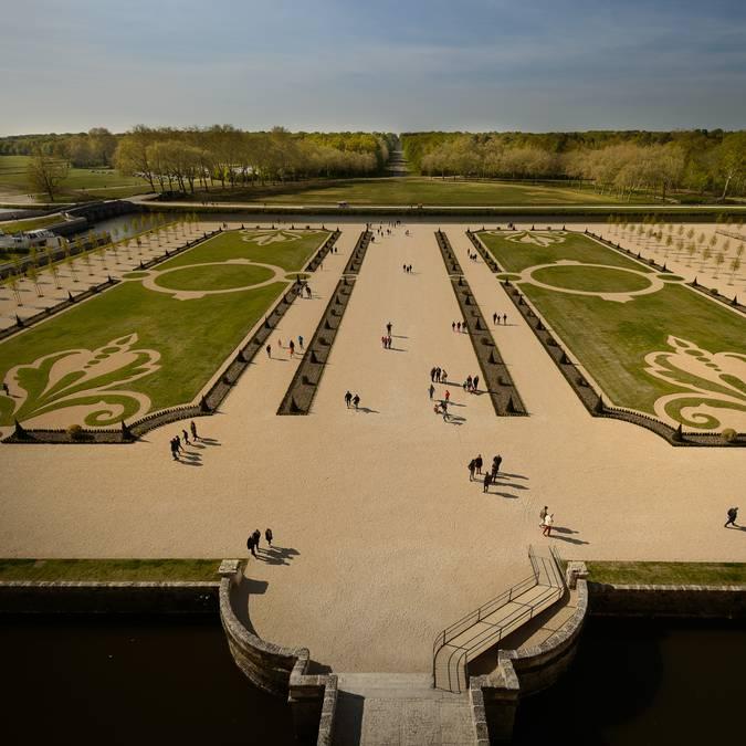 Die Gärten von Chambord