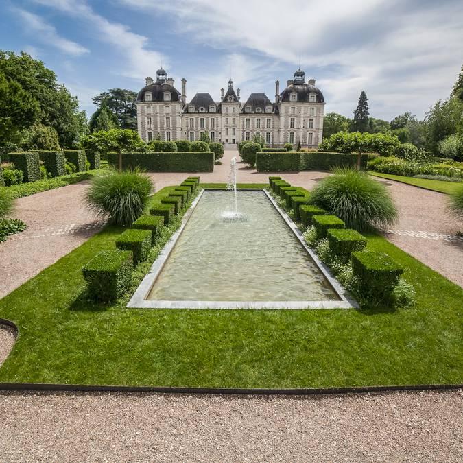 Die Gärten von Cheverny  © CJN Thierry