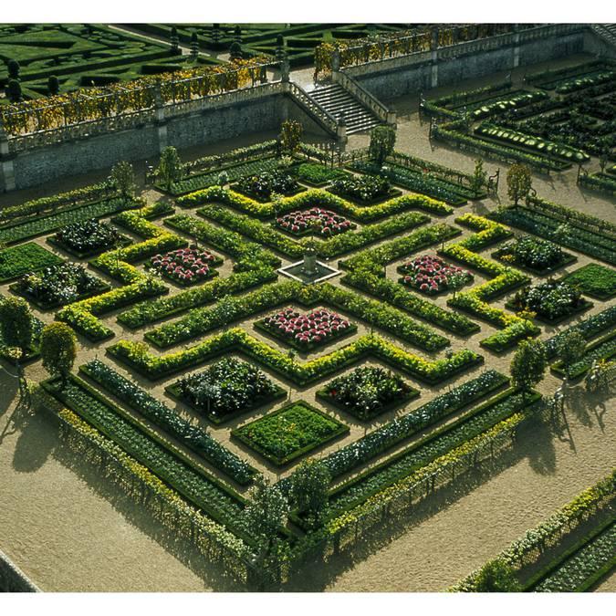 Die Gärten von Villandry. © DR