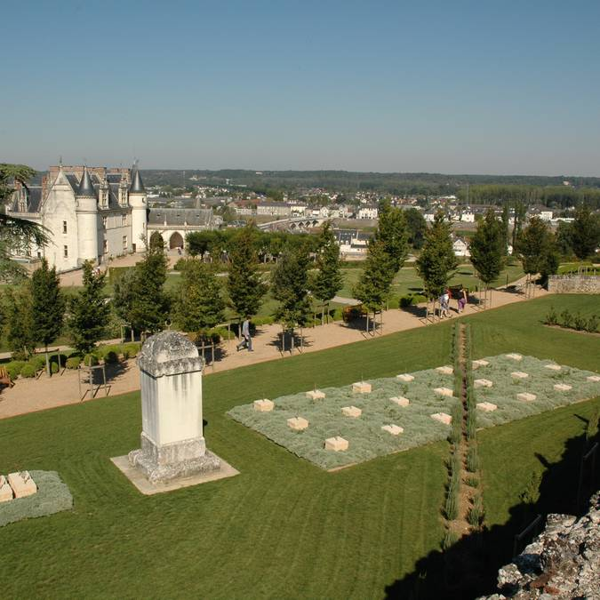 Die mediterranen Gärten des Schlosses von Amboise  © OTBC