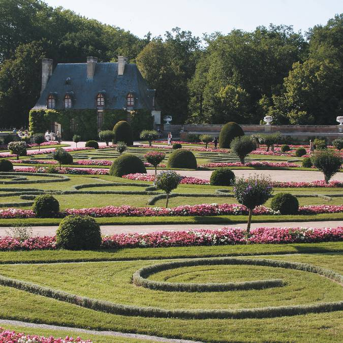 Der Garten der Diane de Poitiers in Chenonceau  © DR