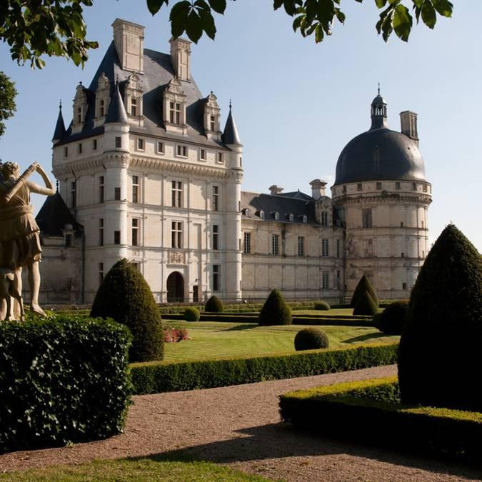 Der Garten von Schloss Valençay  © OTBC
