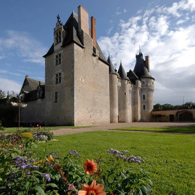 Das Schloss von Fougères-sur-Bièvre