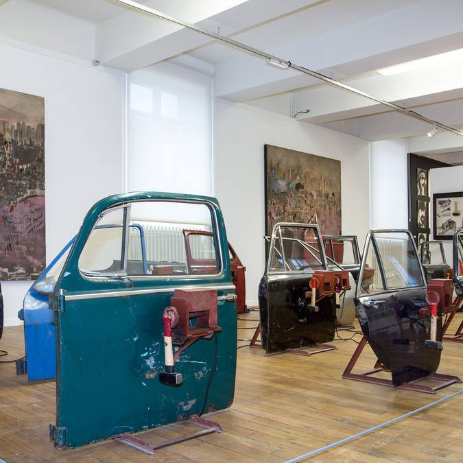 """Ausstellungssaal der """"Fondation du doute"""" © Thierry Bourgoin"""