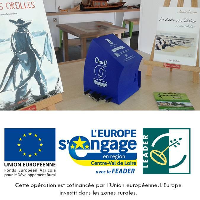 Das Projekt wird von Europa unterstützt